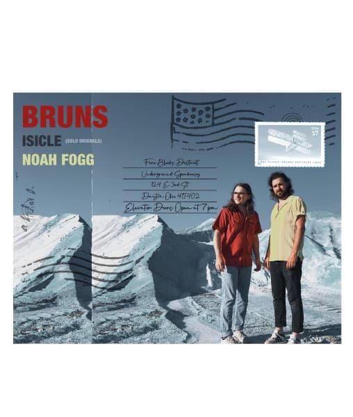 BRUNS, ISICLE, and Noah Fogg